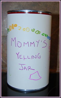 Mommy's Yelling Jar